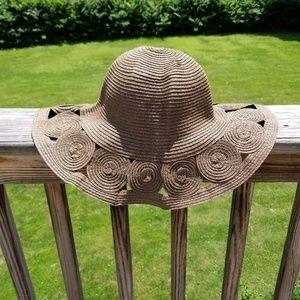 Brown Floppy Summer Hat
